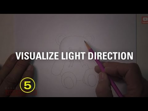 How to Visualize the Light Direction In Your Drawings (Must Have Skills #7)