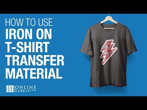 Diy Make Custom Printed T Shirts Inkjet Iron On