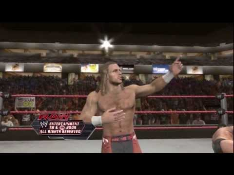WWE Smackdown vs Raw 2010 - Road to Wrestlemania - Shawn Michaels Story - Part 1