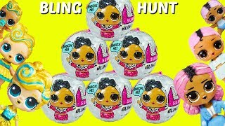 LOL Surprise Bling Series Big Sisters Lil Sisters Hunt for Bling Series LOL House