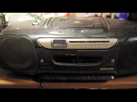 No Disc Error, not reading CD error: Repair Sony CFD 112 CD Player Radio Cassette