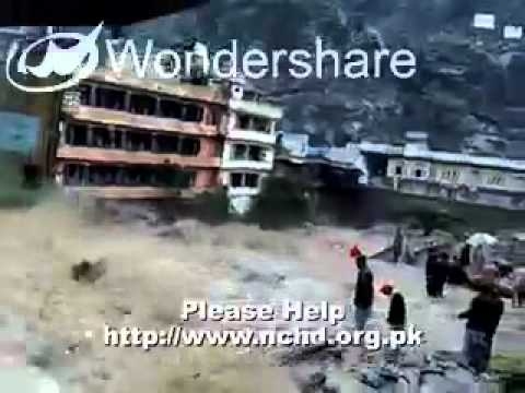 Powerful Floods In Swat Valley, Pakistan video