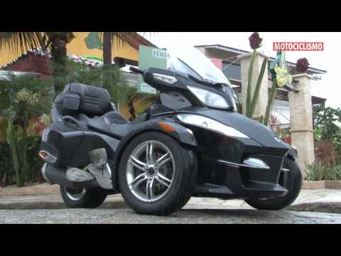 Superteste - BRP Can-Am Spyder RT-S - Revista Motociclismo