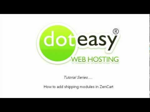0 How to add shipping modules in Zen Cart