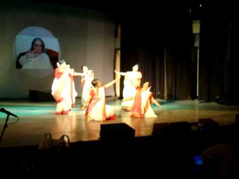 Esho Ma Lakshmi Bosho Ghore By Bybs's Delhi Branch video