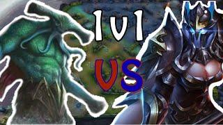 Strike of Kings -1v1- Cresht vs Taara