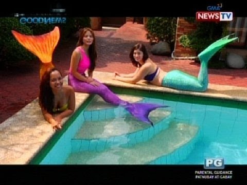 Good News: Mermaid Swimming Lessons With Bea Binene video