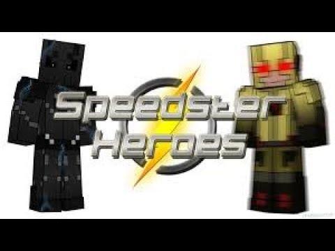 1#Обзор мода на minecaft (speedster heroes)