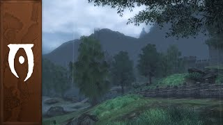 Oblivion Music Ambience Rainy Towns