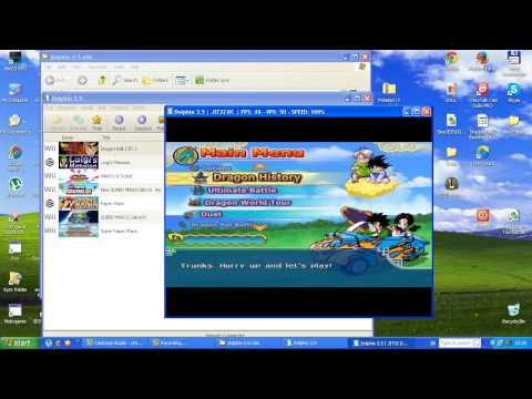 Dragon Ball Z Budokai Tenkaichi 3 WII Dolphin 3.5 Emulator