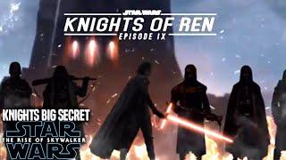 The Rise Of Skywalker Knights Of Ren Big Secret Revealed! (Star Wars Episode 9)