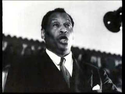 Paul Robeson - Old Man River