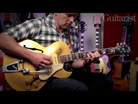 Darrel Higham talks and plays through his Gibson, Gretsch, Peavey and Watkins guitars and amps
