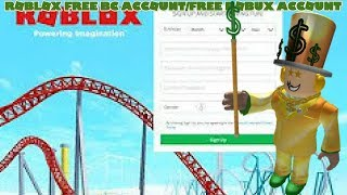 Roblox Free OBC ACCOUNT/FREE ROBUX