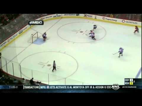 Martin Brodeur three career goals 3/21/13