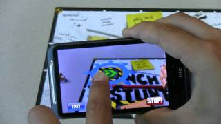 Inch High Stunt Guy Augmented Reality Game for Android