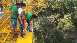Bunjee Jumping in Rishikesh  - Rishikesh River Rafting and Camping Packages