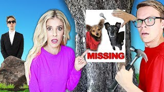 Our Dogs Are Missing! (Trapped for 24 hours in Game Master Escape Room)