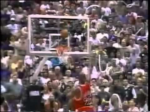 Michael Jordan Chicago Bulls 1998 Final Shot vs Utah Jazz ...