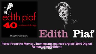 Edith Piaf - Paris (From the Movie: L