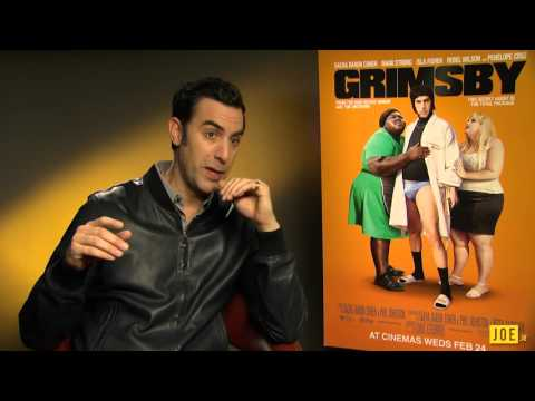 Sacha Baron Cohen talks about Ali G & THAT elephant scene in Grimsby