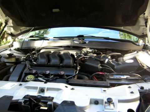 ford taurus engine revving