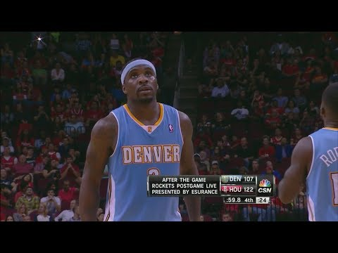 Ty Lawson Full Highlights at Rockets (2013.11.16) - 28 Points, 17 Assists