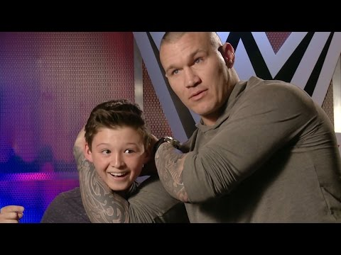 This kid thinks he can counter Orton's RKO?!. only on WWE Network