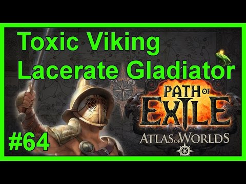 Build Update + Shaped Atlas Map: Beach - #64 - Toxic Viking - Path of Exile: Atlas of Worlds v2.4.1b