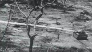 US Marines Intense Combat Footage Battle of Peleliu and Ngesebus Island WW2 w/ Sound