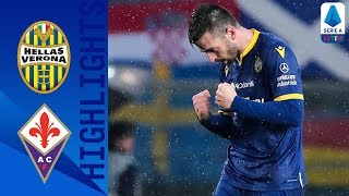 Hellas Verona 1-0 Fiorentina | Di Carmine on Target for First Goal of the Season | Serie A