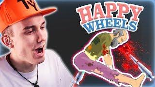 Dieses Spiel ist verrückt XD | Happy Wheels | TRyzes