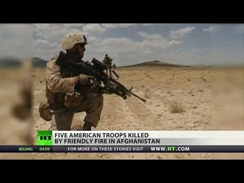 Friendly fire kills five US Special Operations soldiers in Afghanistan