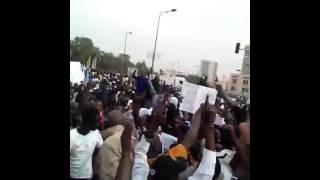 Sénégal manifestation pacifiste contre charlie hebdo