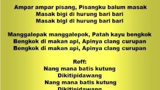 Download Lagu Lagu dan Tari Nusantara: AMPAR AMPAR PISANG - Lagu Anak Gratis STAFABAND