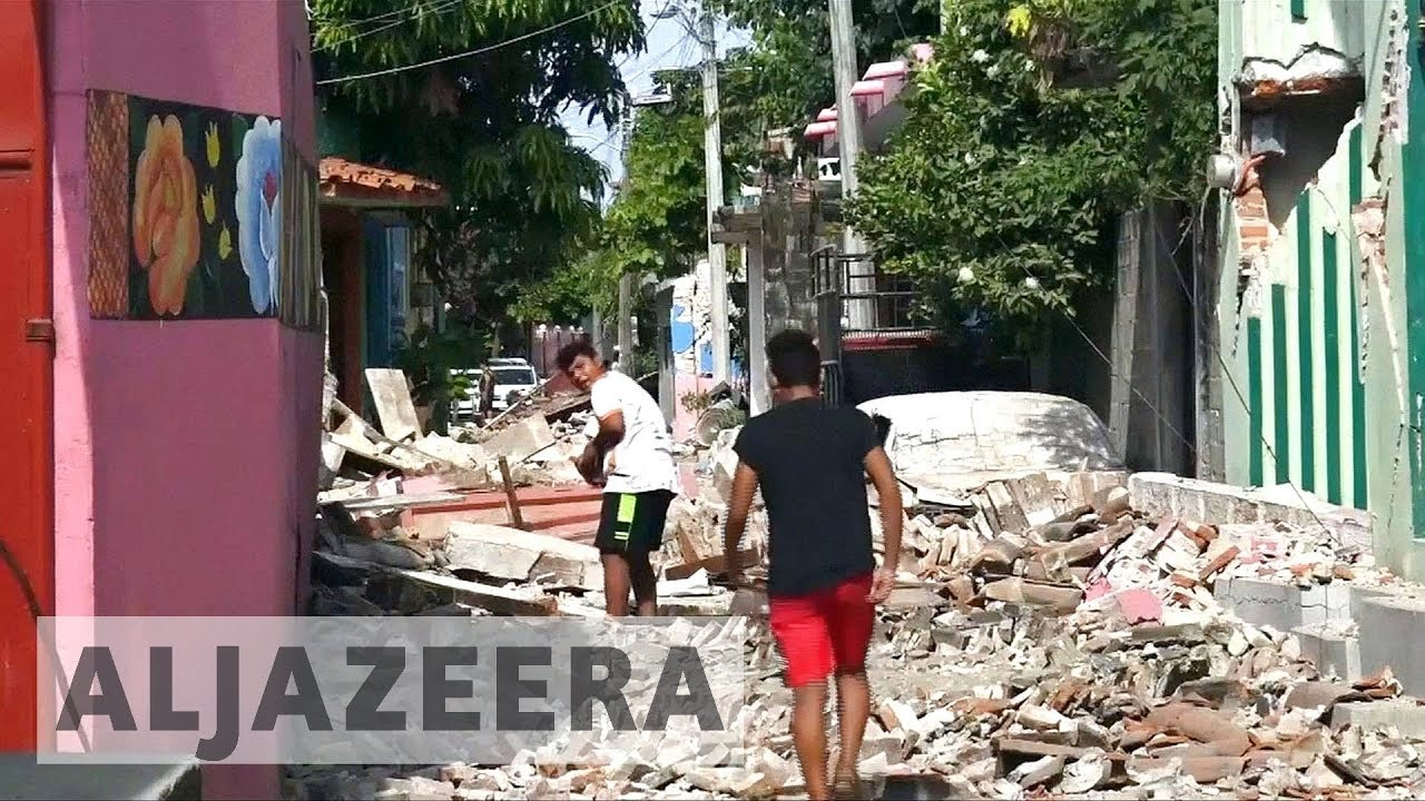 Mexico reeling from strongest earthquake in a century