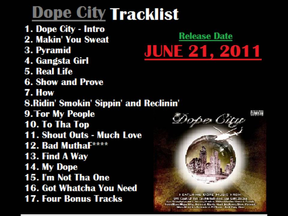 Dope City Game Dope House Presents Dope City