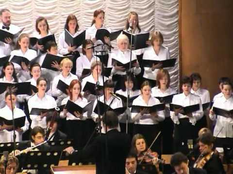 Marc-Antoine Charpentier, Messe de Minuit, Part #1, Moscow Oratorio, conductor-Alexander Tsaliuk