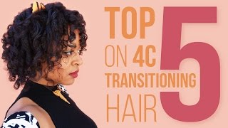 TRANSITIONING HAIR | Top 5 Hair Products