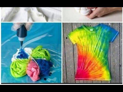 Как сделать крутейшую футболку?! (раскрасить)