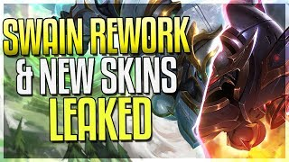 SWAIN REWORK ABILITIES LEAKED & 2 NEW SKINS LEAKED! - League of Legends