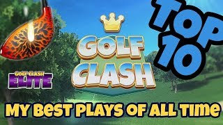 Golf Clash - Top 10 plays 2017/2018