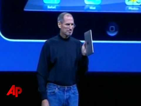 Raw Video: Apple Debuts Tablet-style IPad