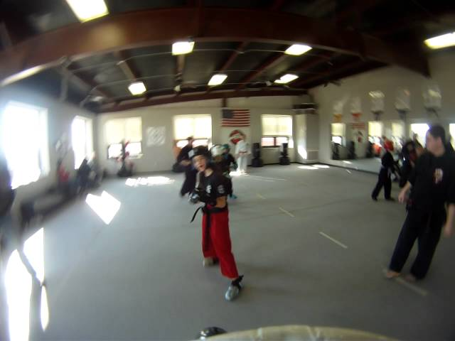 Sparring at Disciple Martial Arts - Serra vs Veronica