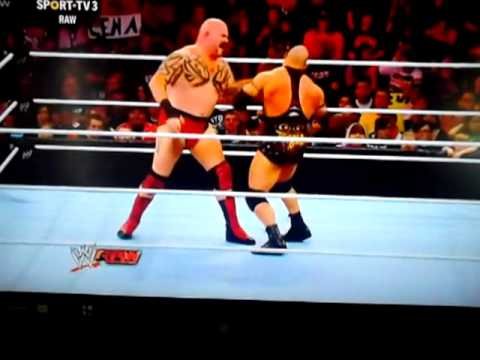 Ryback vs Lord Tensai