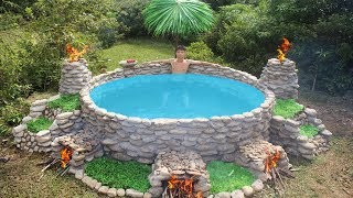 Build Big Heated Swimming Pool For The Winter