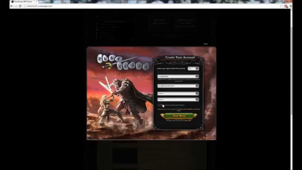 Runescape 2007/Oldschool F2p Now LIVE [How to create ...