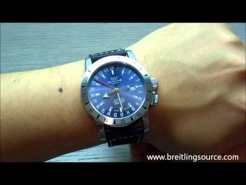 Glycine Airman 46 GMT 24-Hour Automatic Watch