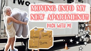 MOVING INTO MY NEW APARTMENT | part 1