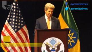 John Kerry comments on Ethiopia's rapid growth